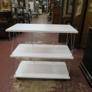 Vintage Mid-Century Modern 3 Tier Bar/Kitchen Cart – $125