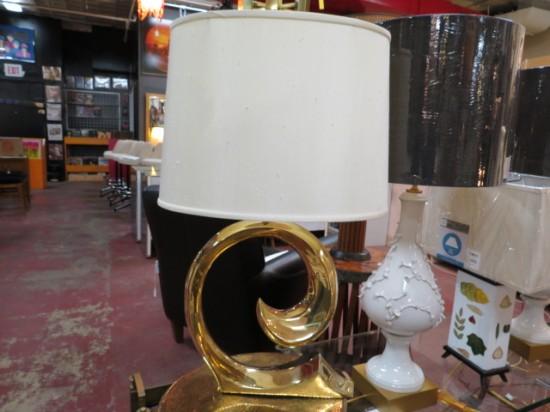 Vintage Mid-Century Modern Solid Brass Pierre Cardin Lamp – $795