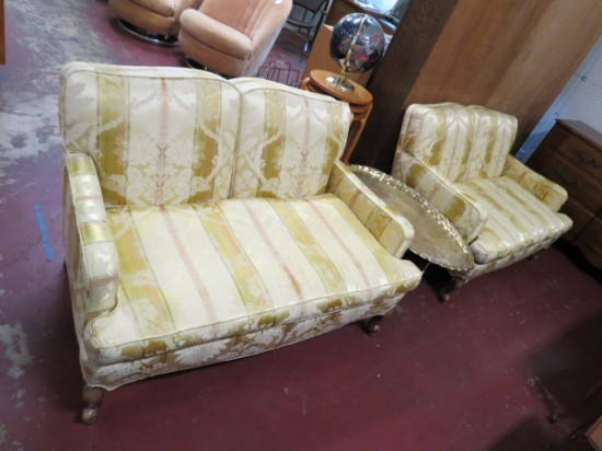 Vintage Antique French Style Pair of Settees/Loveseats – $298 each