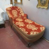 Vintage Antique Chaise Lounge – $490