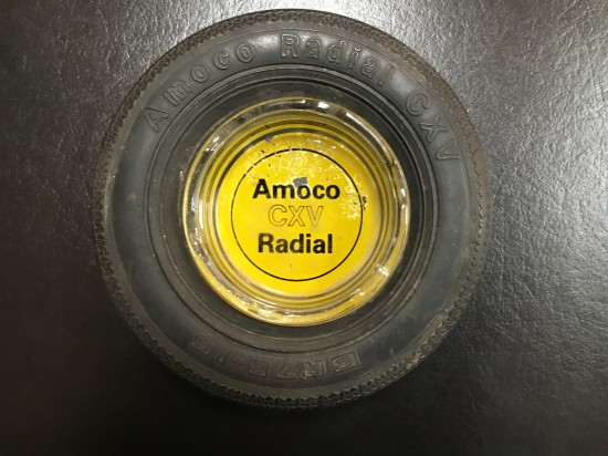 Vintage Amoco Gas Station Tire Ashtray – $55