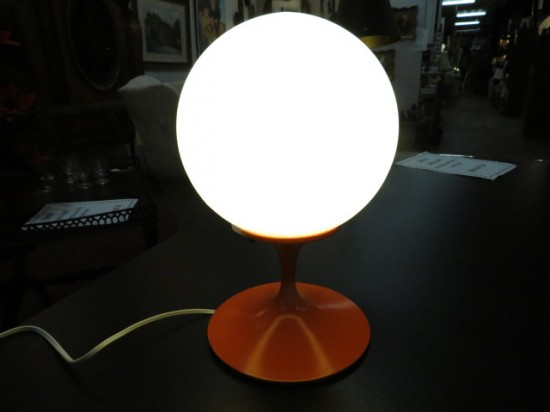 Vintage Mid Century Modern Laurel Globe Table Lamp – $450