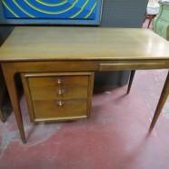 Vintage Mid Century Modern Walnut Desk By Century- $395