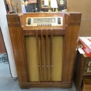 Vintage Antique Philco AM Floor Model Radio – $140