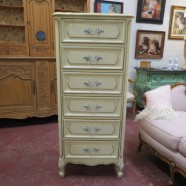Vintage Antique French Style Louis XV Lingerie Chest – $295