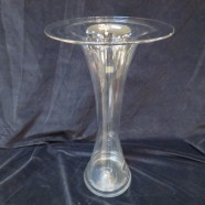 Vintage Mid Century Modern Large Blenko Art Glass Vase – $150