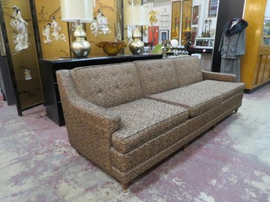 Vintage Mid Century Modern 3 Seat Sofa – $1295